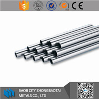 ASTM B338 Gr2 titanium seamless tube for heat exchanger