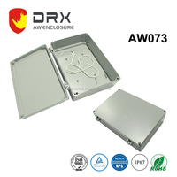 ip67 CUSTOMIZED Electronic extrusion Aluminium Waterproof box for monitor