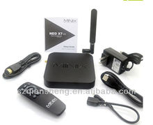 2013 Best Sell MINIX NEO X7 Android 4.2 TV Box RK3188 Quad Core Mini PC 1.6GHz 2G/16G WiFi HDMI RJ45 XBMC Smart TV Receiver