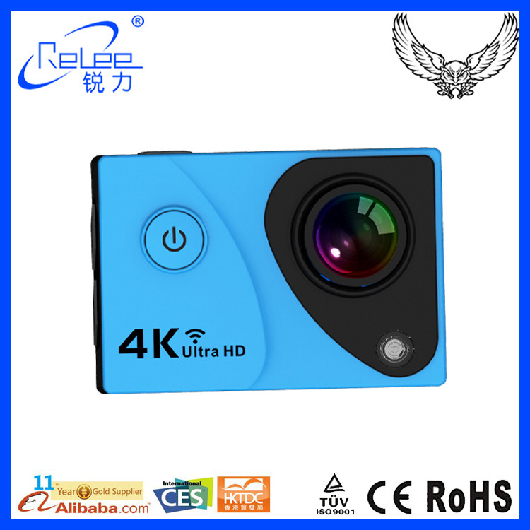 New Product 2016 Waterproof Sport Cam WIFI 4K Ultra HD yi Action camera