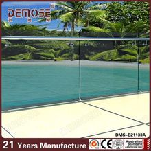 outdoor veranda /balcony frosted glass railings designs