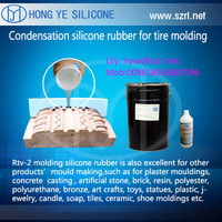 rtv2 silicone rubber for OTR tire mould design making