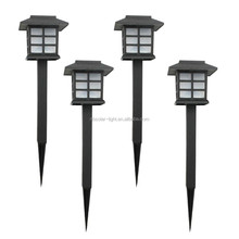 Outdoor waterproof LED plastic Solar Garden Lights solar Landscape Stake Lamps