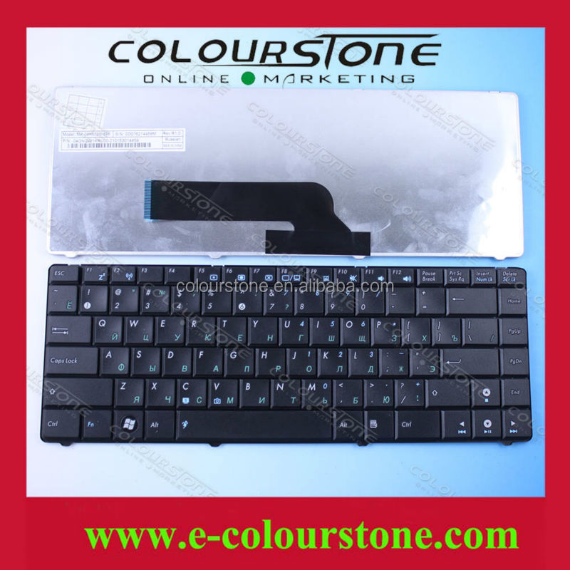 Russian Laptop keyboard for ASUS K40 K40N K40IN K40E A41 X8A P80 P81 Black keyboard