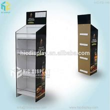 HIC corrugared cardboard wine carriers, carton bottles board pos display