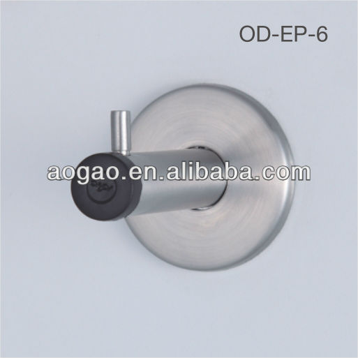 stainless steel toilet partition coat hook