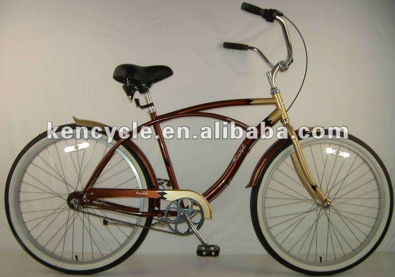 26 inch Hi-ten Inner 3 Speed Adult Man Beach Cruiser SY-BC2616