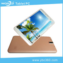 7 inch 3g tablet pc mtk 8382 quad core with phone call function