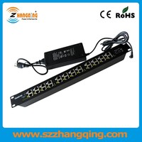 Multi Port power over ethernet PoE patch panel Adapter for 12 PoE devices