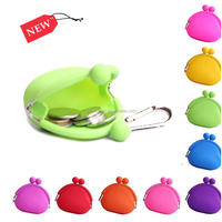 novelty silicone coin purse