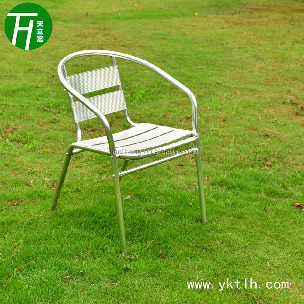 Cheap Outdoor Stackable Aluminum Chair