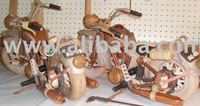 wooden toys, wooden dolls moving figures, bolt, dragon, knight, moving figures, etc.