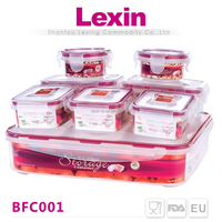 New Arrived wholesale clear plastic lunch boxes bento for warming food