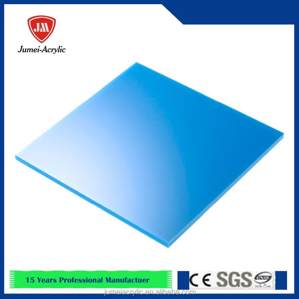 Professional clear color interior decoration acrylic plastic sheet/pmma sheet