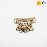 MAIN PRODUCT trendy style rhinestone metal sash buckle from manufacturer