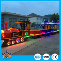 [fine workmanship factory] family rides battery/electric/shopping mall amusement park road trackless train