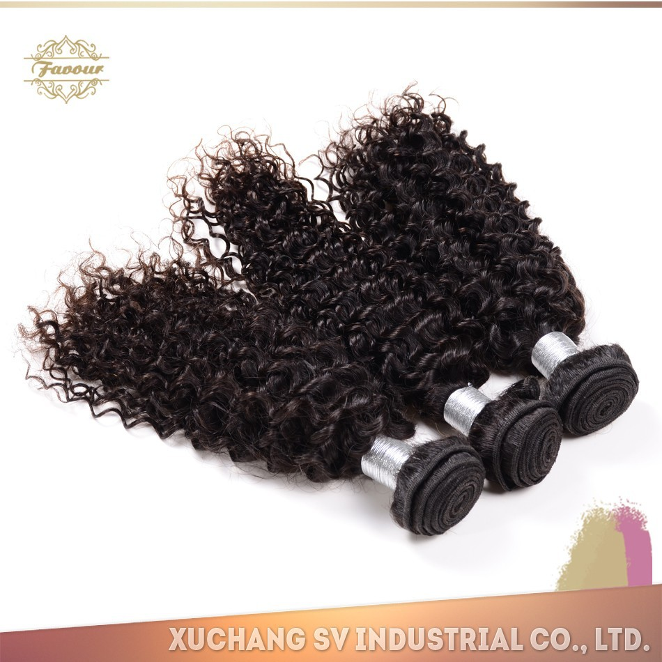 natural color kinky curl hair extension, fast selling customized kinky curl half wig, kinky curl sew in hair weave