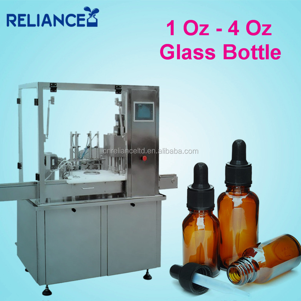 R-VF-E 1 Oz 10ml e-liquid glass dropper bottle filling machine