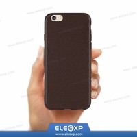 PU Leather Pattern TPU Cover Luxury Ultra Slim Soft TPU Leather Back Cover Case For Apple iPhone 6 4.7 Phone Capas