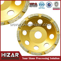 Diamond Resin Bonded Grinding Cup Wheel for artificial stone polishing