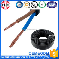 UL standard 2468 flat wire,11*0.16 electrical wires and cables,array cable wire