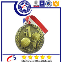3d basketball metal medals,race events medals with your own design