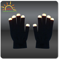 Chinese manufacture LED light up flashing gloves for night party