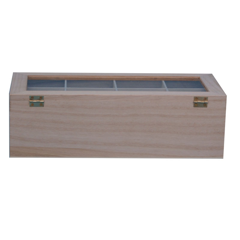 2016 Low price natural wood box essential oils