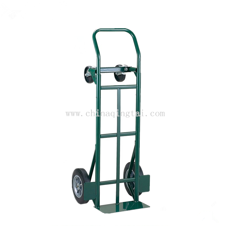 Platform hand truck 4 wheel folding trolley