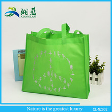 promotional cheap disposable nonwoven cloth bag with logo