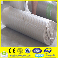 "1/4"" x 1/4"" / 3/8"" x 3/8"" Galvanized Welded Wire Mesh roll 30m length ( Manufacturer)"