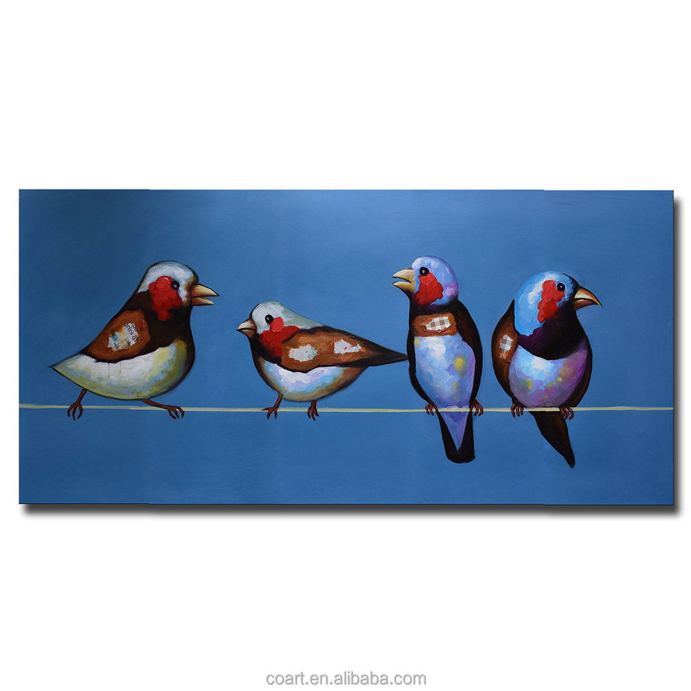 Wall picture Abstract Bird Painting Decoration for home