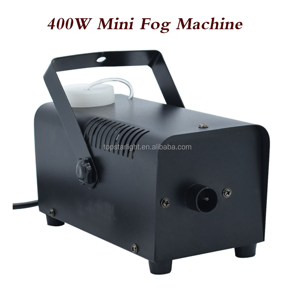 (TSK001C) Wired Remote Control Fog Machine 400w Mini Fog Machine For Halloween Christmas Home Party