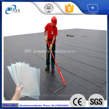 waterproof 2.0mm hdpe geomembrane plastic cover the pond