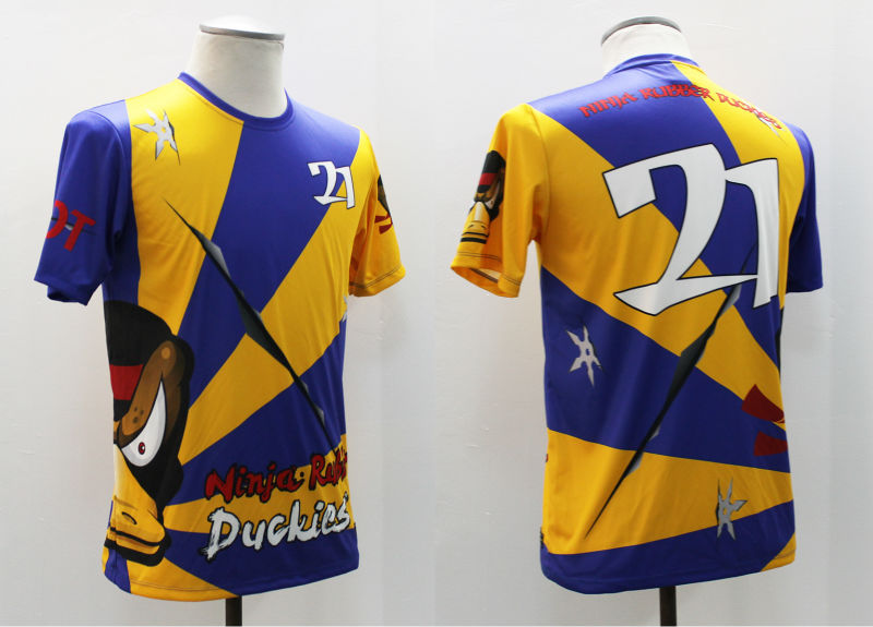 Custom Sublimated Frisbee Jersey from Philippines