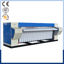 Gas/steam/electric heated bed sheet flatwork ironer machine