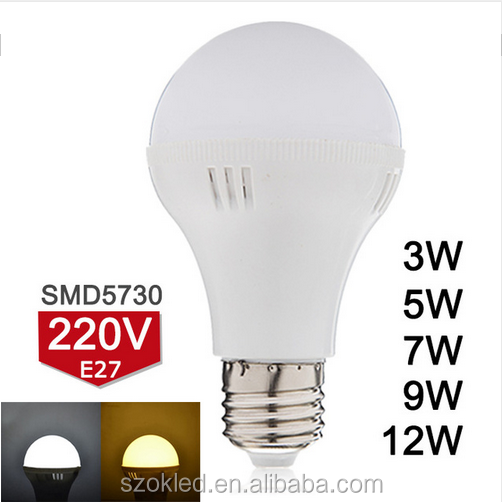 E27 LED Bulb 220V 3W 5W 7W 9W 12W LED Lamp SMD3528 Super Bright Bombillas LED Light Warm White/Cold White D3-D12