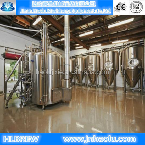 3BBL,4BBL,5BBL,7BBL Stainless steel brewhouse commercial brewery equipment high quality beer brewing machine beer making machine
