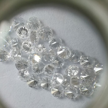 Lab grown big size white synthetic HPHT /CVD loose diamond