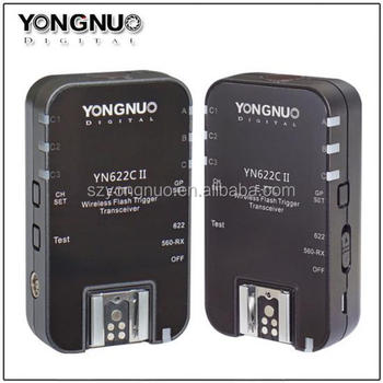 YN-622C II Wireless TTL Flash Trigger photographic equipment