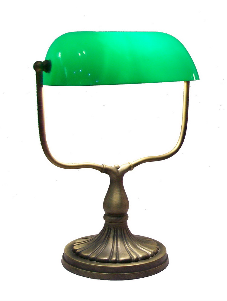"9"" tiffany bank lamp for bedroom/study/office with factory price Antique Stained Glass bank Lamp wholesale"