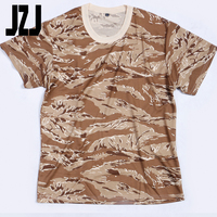 Woodland camo tactical uniform army clothing military uniform military T-shirt