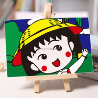 Kids diy canvas art kits wall digital paintings for kids