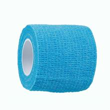 Nonwovens Self Adhesive Elastic Medical Bandage Tape For First Aid Body Care Sports Wrist Support Light Blue 50mm