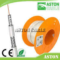 ASTON RG6 Tri Shield Cable   RG11 Quad Shield CATV Coaxial Cable   75Ohm Coaxial Cable RG6 RG 59  