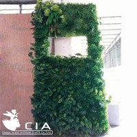 Vertical Biowall Artificial Modular Green Wall