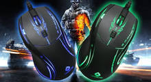 6 buttonsBreathing Colorful LED Light 6 Button Gaming Mouse , USB Optical Gaming Mouse