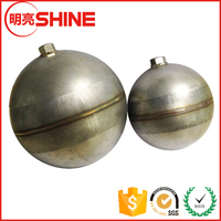 6 Inch Diameter Threaded Hollow Metal Sphere Stainless Steel Hollow Float Ball