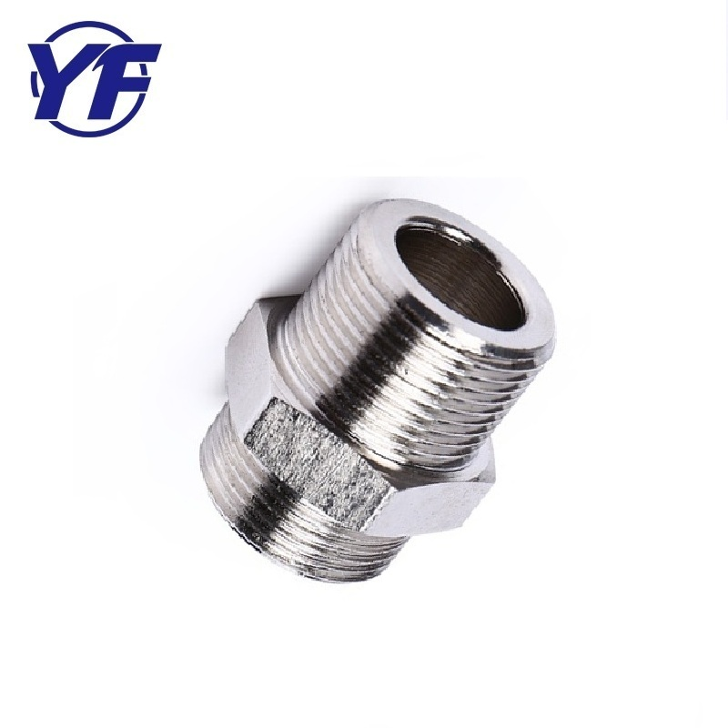 Best Quality Wholesale stainless steel hex sleevel nut , male female pipe fitting union connector