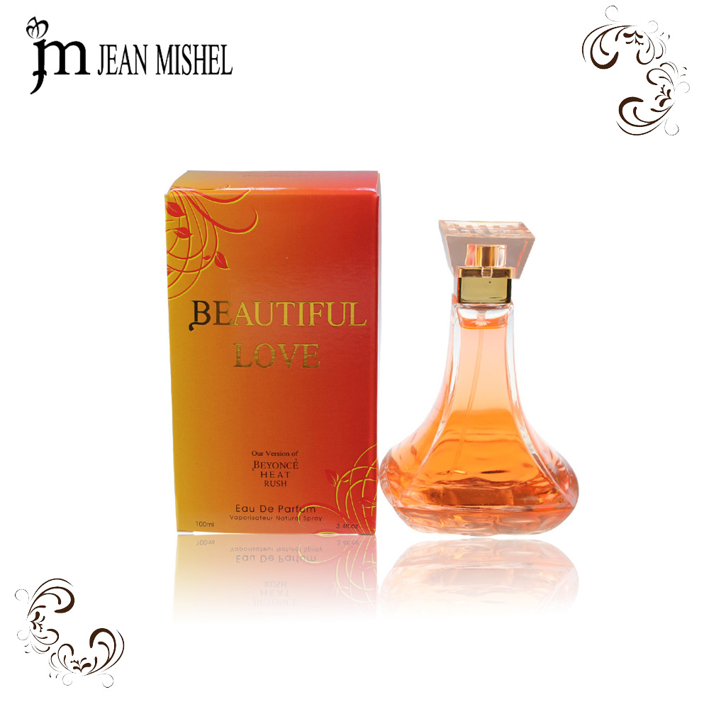 Factory Wholesale Rose Fragrance Perfume Imitation OEM famous brand for Women